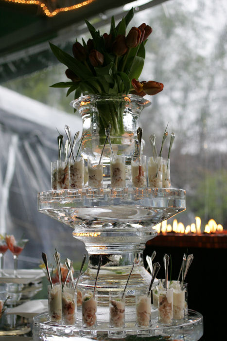 A Coastal Tented Event – Buffet Stations